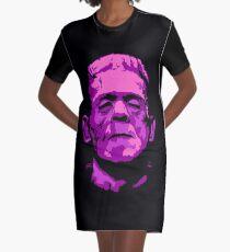 Frankenstein - A study in Pink Graphic T-Shirt Dress