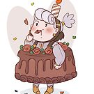 Opal Cake by CruznCreations