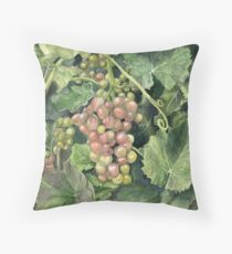 Winery Tour Throw Pillow