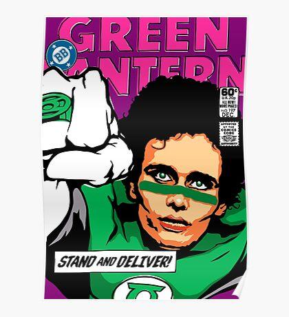Post-Punk Super Friends - Green Poster