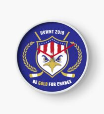 Be Gold For Change Clock