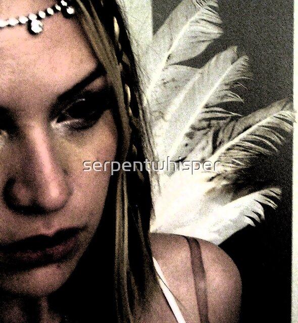 Weary Angel by serpentwhisper