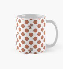 Polka Dot Ants (Red) Mug