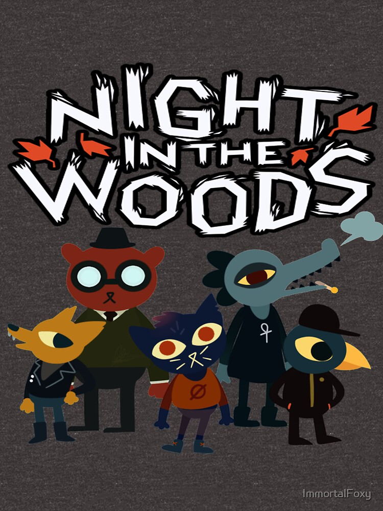 Night In The Woods by ImmortalFoxy