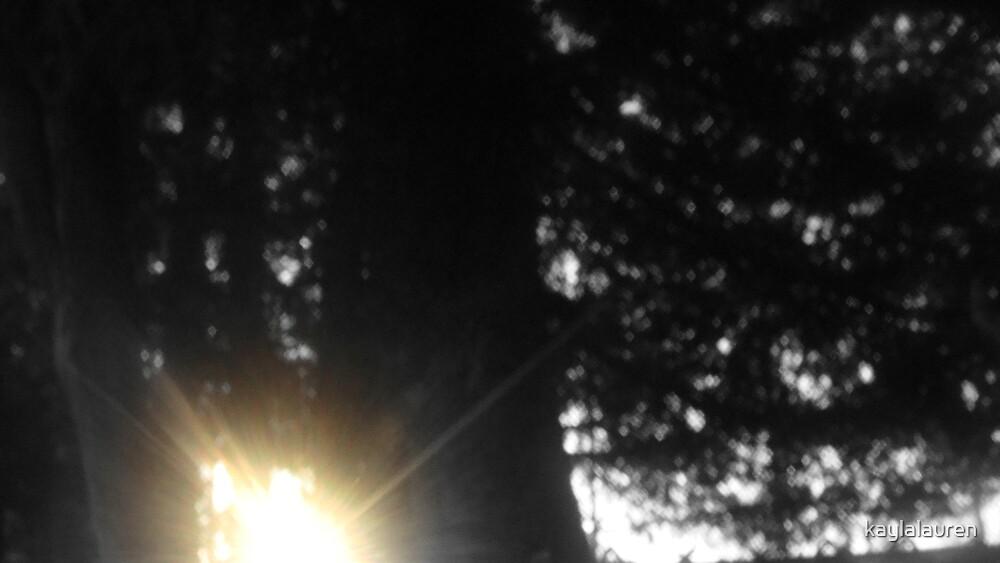 Sunset Breaking Through by kaylalauren