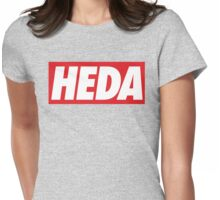obey heda. Womens Fitted T-Shirt