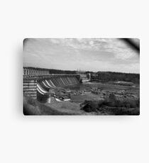 Jordan Dam  Canvas Print