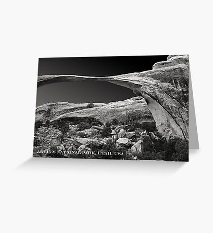 ARCHES NATIOANAL PARK UTAH (CARD) Greeting Card