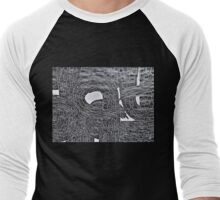 Crazy cherubs Men's Baseball ¾ T-Shirt