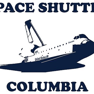 Space Shuttle Columbia Vintage Look by philstrahl