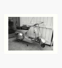 'Moped' Art Print