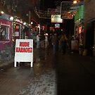 Nude Karaoke Bar sign by Debbi Tannock