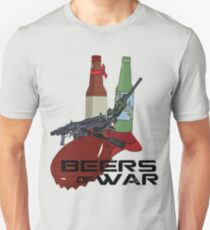 Beers Of War  Unisex T-Shirt