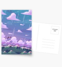 Here Comes a Thought Postcards