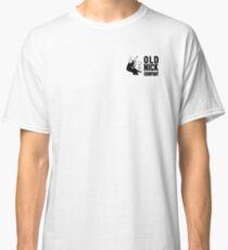 Old Nick Small Logo Black Classic T-Shirt