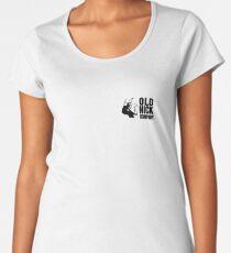 Old Nick Small Logo Black Women's Premium T-Shirt