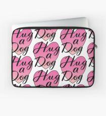 Hug a Dog Laptop Sleeve