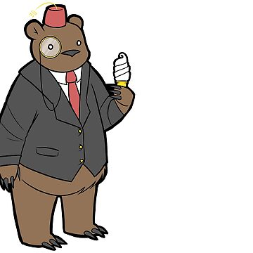 Dapper Bear by GoodMoeJo