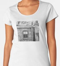 Abandoned Building Women's Premium T-Shirt