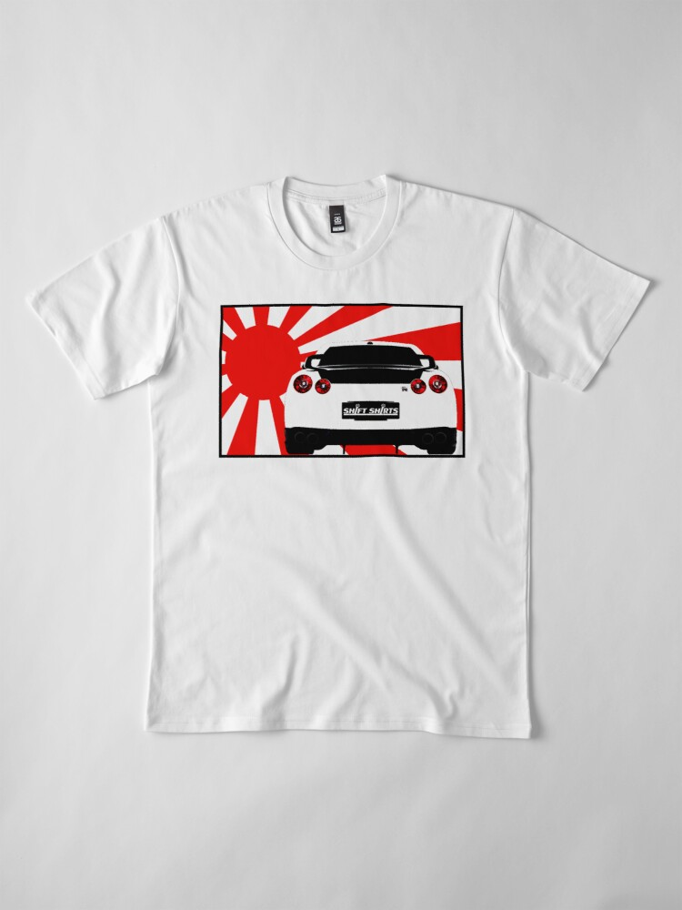 Alternate view of Shift Shirts R35SPECT – R35 Inspired Premium T-Shirt