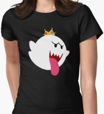 King Boo! Simplistic Design Women's Fitted T-Shirt
