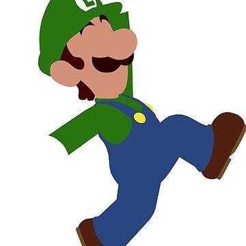Luigi Minimalist Design by SimplisticArts