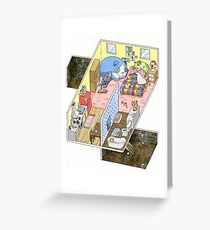 Witch's House Greeting Card