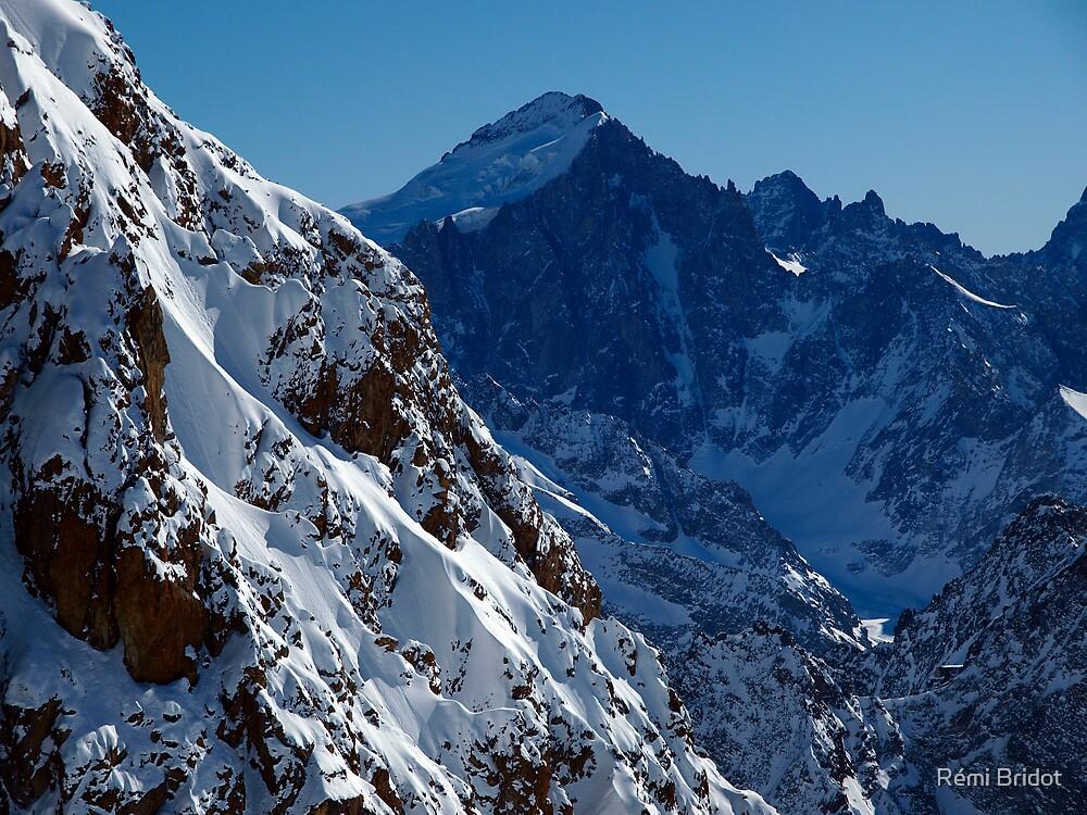Barre des Ecrins (4100 meter) by Rémi Bridot