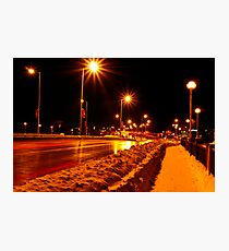 QEW Bridge Photographic Print