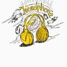 Headphone  by kurniawansart