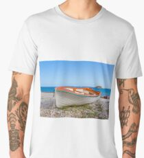 beach boat Men's Premium T-Shirt