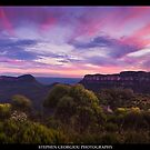 Blue Mountains Bliss by STEPHEN GEORGIOU PHOTOGRAPHY