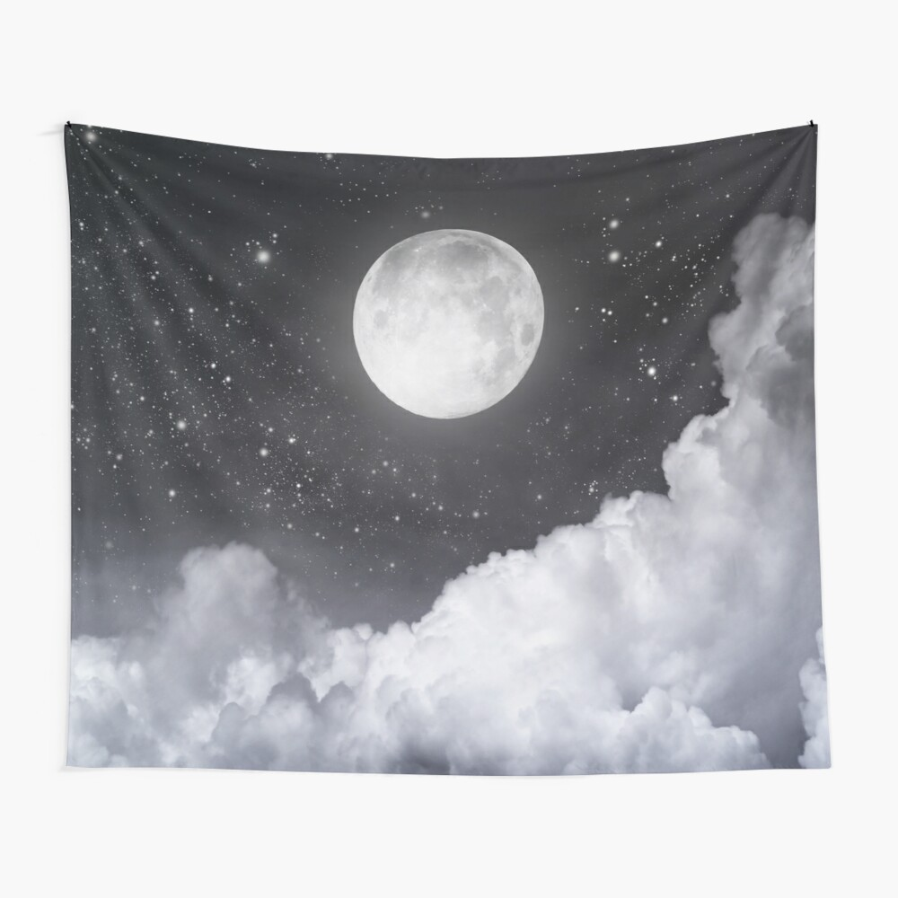 Touch of the moon II Wall Tapestry