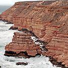 Island Rock - Castle Cove Kalbarri NP Western Australia by Adrian Paul