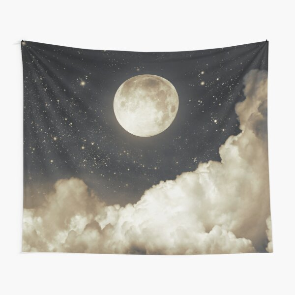 Touch of the moon I Tapestry
