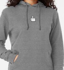 Middle finger cursor (Windows cursor) Lightweight Hoodie