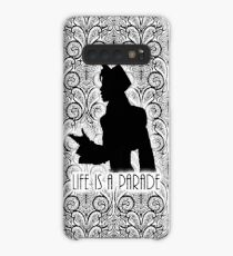 Life Is A Parade Silhouette  Case/Skin for Samsung Galaxy