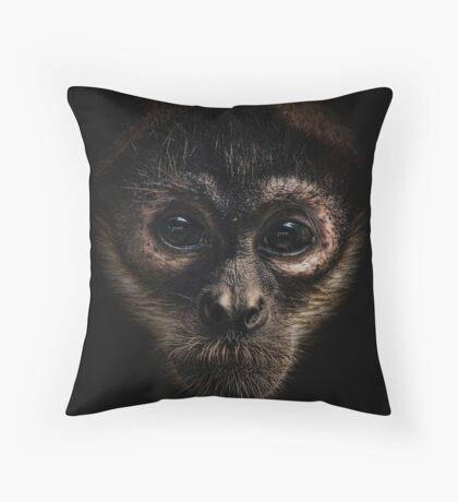 Spider Monkey Throw Pillow