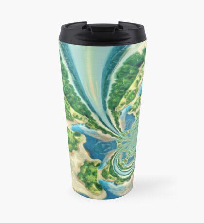 Extraterrestrial planet Travel Mug