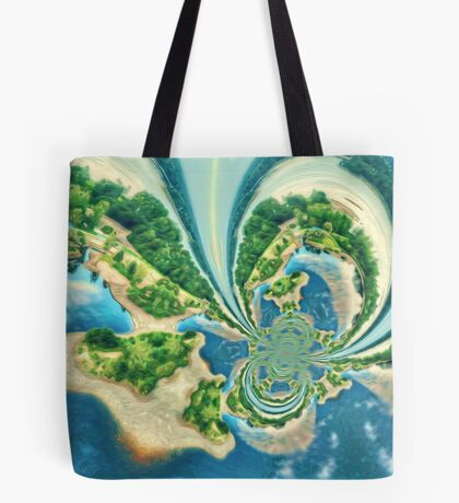 Extraterrestrial planet Tote Bag