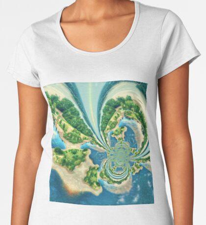 Extraterrestrial planet Premium Scoop T-Shirt