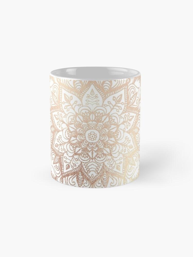 Alternate view of Mandala Gold Shine I Mug