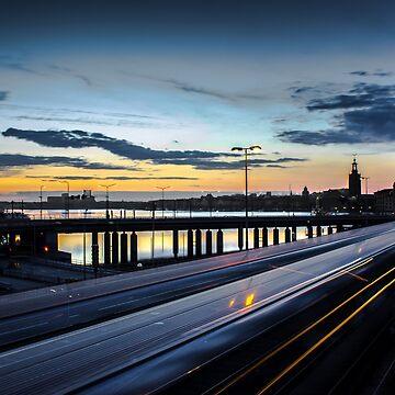 Noche de Estocolmo - Slussen de Nicklas81