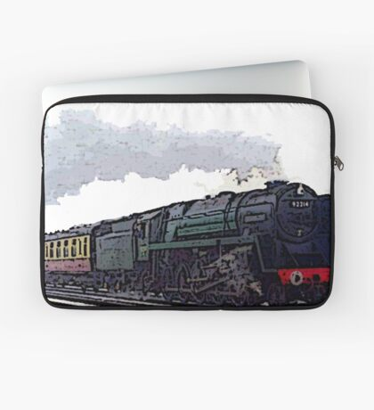 Leicester City 92214 steam train  Laptop Sleeve