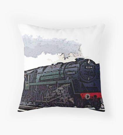 Leicester City 92214 steam train  Floor Pillow