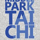 Middle Park Tai Chi - Blue by Chris Serong