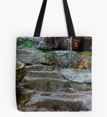 Stairs to Enchantment - Somersby Falls NSW Tote Bag