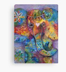Grace - Bali inspired elephant Canvas Print