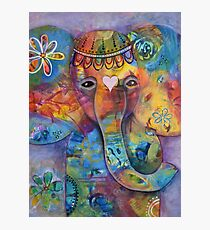 Grace - Bali inspired elephant Photographic Print