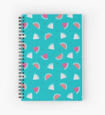 watermelon new cute pattern art green coloured 2018 style cuteness love loved trend popular hot Spiral Notebook